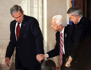 bush with Byrd