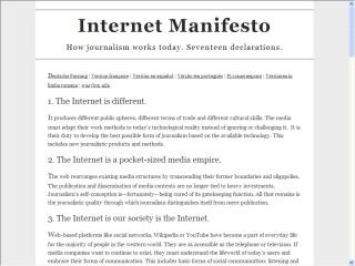 manifesto internet